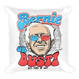 Bernie Or Bust pillow