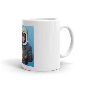 Monkey Astronaut Mug