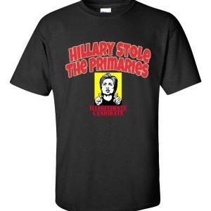 Hillary Stole Primaries tee