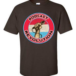PodcastRevolution t-shirt