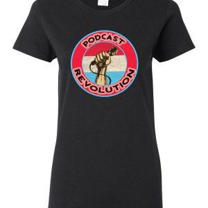 Women's PodcastRevolution t-shirt