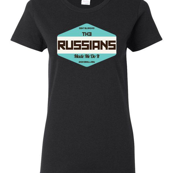 Women's Blame Russia t-shirt